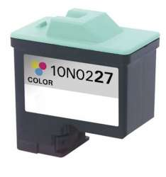 Remanufactured Lexmark 10N0227 (#27) inkjet cartridge - color