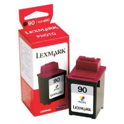 Original Lexmark 12A1990 (#90) inkjet cartridge - photo