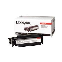 Original Lexmark 12A7315 toner cartridge - high capacity black