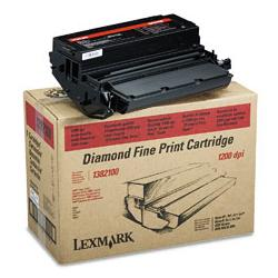Original Lexmark 1382100 toner cartridge - black