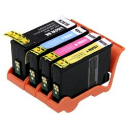 Remanufactured inkjet cartridges Multipack for Lexmark #150XL - 4 pack