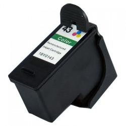 Remanufactured Lexmark 18Y0143 (#43XL) inkjet cartridge - high capacity color