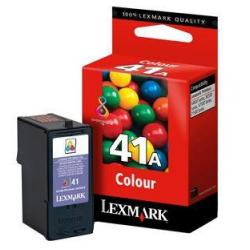 Original Lexmark 18Y0341 (#41A) inkjet cartridge - color