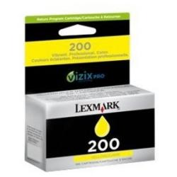 Original Lexmark 14L0649 (#200) inkjet cartridge - yellow