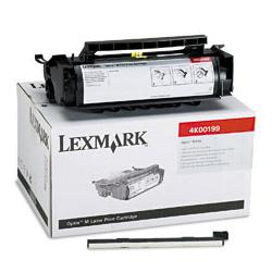 Original Lexmark 4K00199 toner cartridge - black