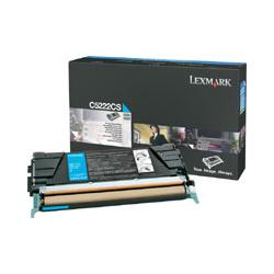 Original Lexmark C5222CS toner cartridge - cyan