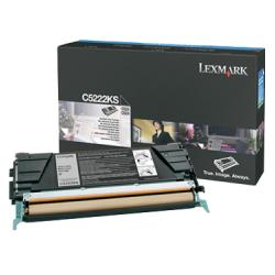 Original Lexmark C5222KS toner cartridge - black