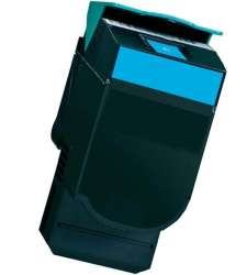Remanufactured Lexmark C544X2CG toner cartridge - extra high capacity cyan