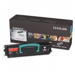 Original Lexmark E450A21A toner cartridge - black