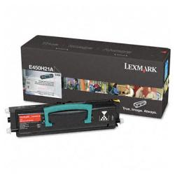 Original Lexmark E450H21A toner cartridge - high capacity black