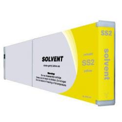 Compatible inkjet cartridge for Mimaki SS2Y - yellow