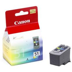 Original Canon CL-51 inkjet cartridge - color