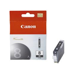 Original Canon CLI-8Bk inkjet cartridge - black