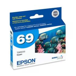 Original Epson T069220 (69) inkjet cartridge - cyan