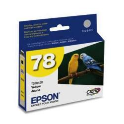 Original Epson T078420 (78) inkjet cartridge - yellow