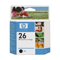 Original HP 51626A (26) inkjet cartridge - black