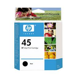 Original HP 51645A (HP 45) inkjet cartridge - black