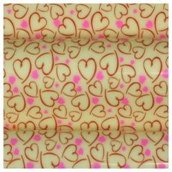 Pre-printed Inkedibles Chocolate Transfer Sheets (Artistic Hearts) Includes 25 sheets