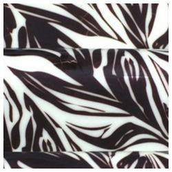 Pre-printed Inkedibles Chocolate Transfer Sheets (Black Zebra Sripes) Includes 25 sheets
