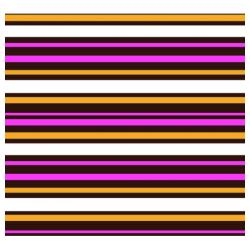 Pre-printed Inkedibles Chocolate Transfer Sheets (For Love of Stripes) Includes 25 sheets