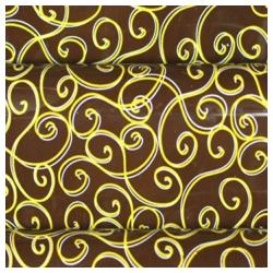 Pre-printed Inkedibles Chocolate Transfer Sheets (Golden Curls) Includes 25 sheets