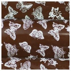 Pre-printed Inkedibles Chocolate Transfer Sheets (White Butterflies) Includes 25 sheets
