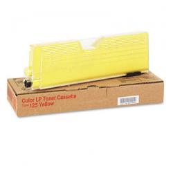 Original Ricoh 400981 (Type 125) toner cartridge - yellow