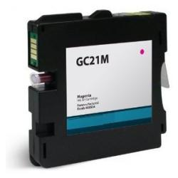 Compatible inkjet cartridge for Ricoh 405534 (GC21M) - magenta