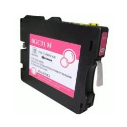 Compatible inkjet cartridge for Ricoh 405690 (GC31M) - magenta