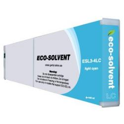 Compatible inkjet cartridge for Roland ESL3-4LC - eco-sol max light cyan