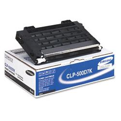 Original Samsung CLP-500D7K toner cartridge - black