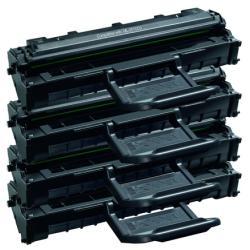 Compatible Samsung ML-2010D3 toner cartridges - 4-pack