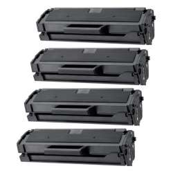 Compatible Samsung MLT-D101S toner cartridges - 4-pack