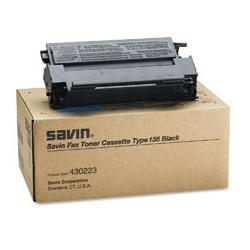 Original Savin 430223 (Type 135) toner cartridge - black