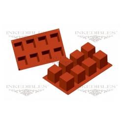 Silicone Chocolate Mold - 3D Square Shape