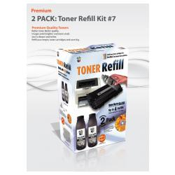 Uni-Kit Bulk Toner #7 - 2-pack
