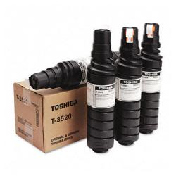 Original Toshiba T-3520D toner cartridge - black - 4-pack