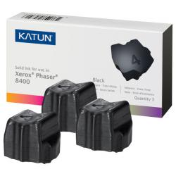 Compatible Xerox 108R00604 solid ink sticks - 3 black