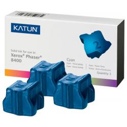 Compatible Xerox 108R00606 solid ink sticks - 3 cyan