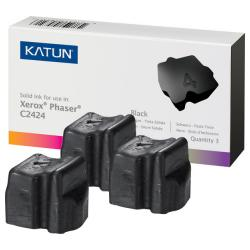 Compatible Xerox 108R00663 solid ink sticks - 3 black