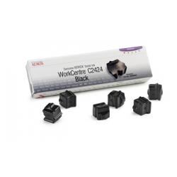 Xerox WorkCentre C2424 OEM Black Solid Ink ( 6 / Box )