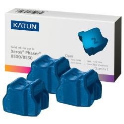 Compatible Xerox 108R00669 solid ink sticks - 3 cyan