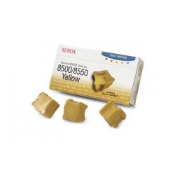 Original Xerox 108R00671 solid ink sticks - 3 yellow