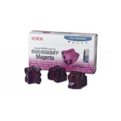 Original Xerox 108R00724 solid ink sticks - 3 magenta