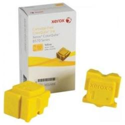 OEM Xerox Phaser 8570 Yellow ColorQube Solid Ink Sticks (108R00928) (4400 pages) (2/ Box)