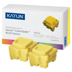 Compatible Xerox 108R00928 solid ink sticks - 2 yellow
