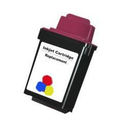 Remanufactured Xerox 8R12591 inkjet cartridge - color