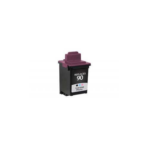 Remanufactured Lexmark 12A1990 (#90) inkjet cartridge - photo