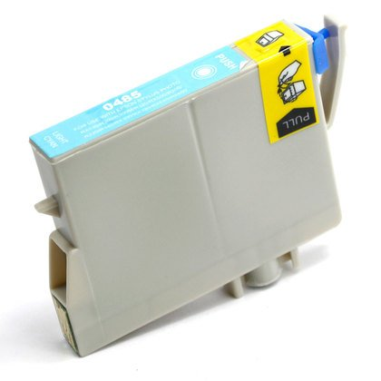 Remanufactured Epson T048520 (48) inkjet cartridge - light cyan