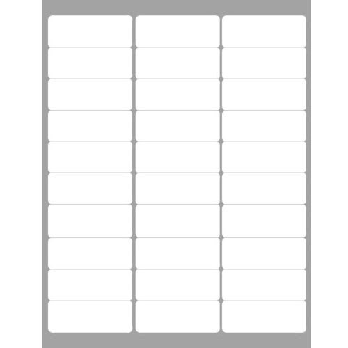 Address / Shipping Labels compatible with the Avery 5160 template (100  sheets per pack)